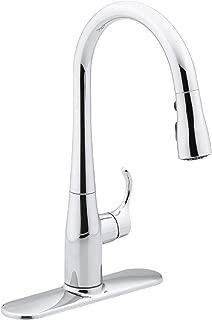 Kohler K-597-CP Simplice Kitchen Faucet, One Size