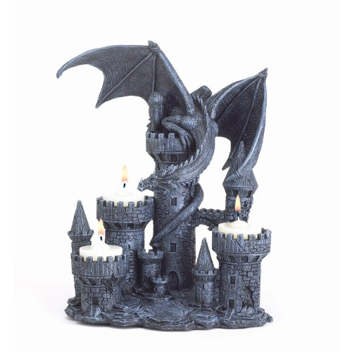 Gifts & Decor Magic Myth Fantasy - Candelabro medievale