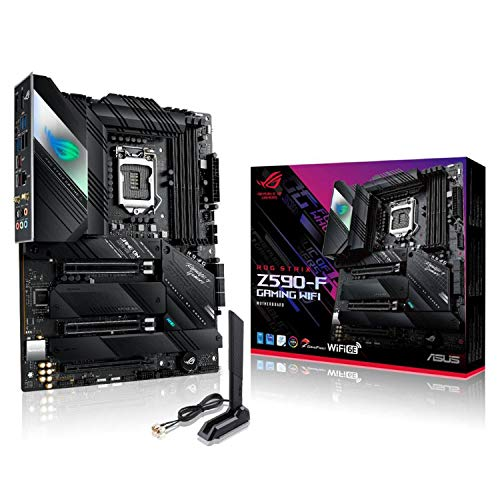 ASUS Intel Z590 搭載 Socket 1200 対応 マザーボード ROG STRIX Z590-F GAMING WIFI 【 ATX 】
