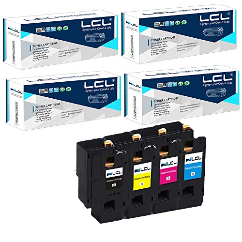 LCL Cartucce di Toner Compatibile 106R01630 106R01627 106R01628 106R01629 (1Nero 1Ciano 1Magenta 1Giallo) Sostituzione per Xerox Phaser 6000/6010/workcentre 6015