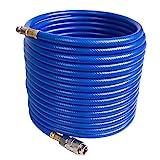 CCLIFE Tuyau d'air comprimé pour compresseur (longueur: 10m ; raccords 1/4') -...