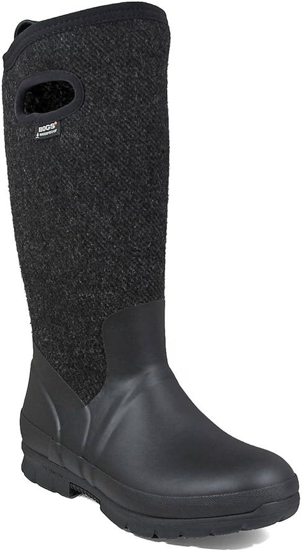 Bogs Women's Crandall Tall Wool Waterproof Winter Boot