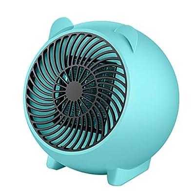 Vansee Fan Heater, Portable Fan Heater Desktop Cartoon Heater for The Office & Home