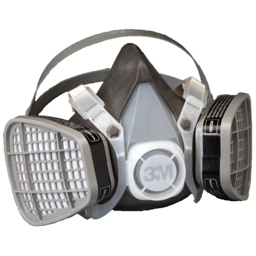 3M Disposable Respirator Half Face Piece Assembly 5301 Organic Vapor Respiratory Protection Large Size