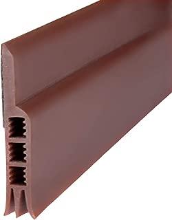 Door Sweep, Weather Stripping Under Door Draft Stopper Door Insulation for Door Bottom(Brown 2