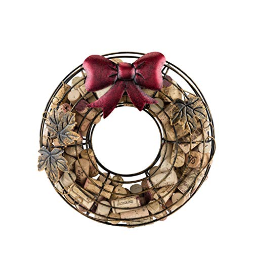 True Holiday Wreath Wine Cork Holder, 1 EA