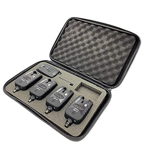 CarpOn® Funk Bissanzeiger 4+1 mit LED...