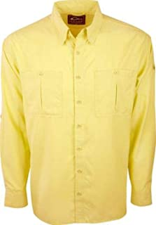Drake Flyweight Shirt with Vented Back DS7001 Mellow Long Sleeve