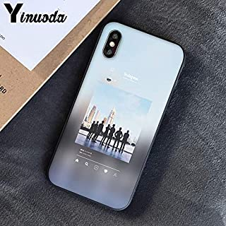 Inspired by EXO sehun chanyeol Phone Case Compatible With Iphone 7 XR 6s Plus 6 X 8 9 11 Cases Pro XS Max Clear Iphones Cases TPU- Wristband- X14- Hoodie- Elyxion- Elyxion- 33005334622