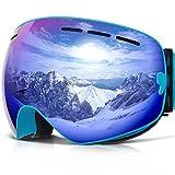 COPOZZ Ski Goggles, G1 OTG Snowboard Snow Goggles for Men...