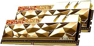 G.Skill DDR4メモリ TridentZ Royal Elite シリーズ DDR4-3600 32GBKit(16GB×2枚組)国内正規品 特典ステッカー付き F4-3600C14D-32GTEGA