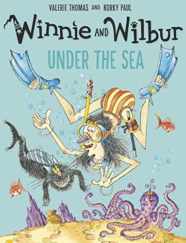 Winnie and Wilbur under the Sea (English Edition)