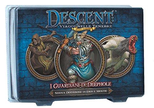 Giochi Uniti GU365 - Descent Seconda Edizione: I Guardiani di Deephall