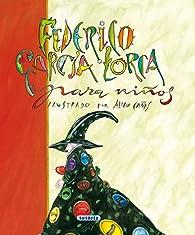 Federico Garcia Lorca Para Niños par Federico García Lorca