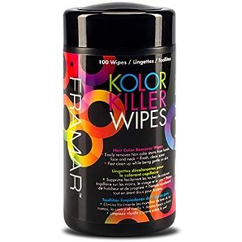 Framar Kolor Killer Wipes – Hair Dye Remover Hair Color Remover – Wipes Dispenser of 100