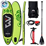 AM AQUA MARINA Set de Stand Up Paddle Board Inflable Breeze 2020 iSUP Espesor 9 Pulgadas...