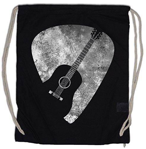 PLECTRUM Bolsa de cuerdas con Cordón Gimnasio pick quill flatpick Guitar Gitarren...