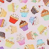 Robert Kaufman Sweet Tooth Cupcake Dessert Food