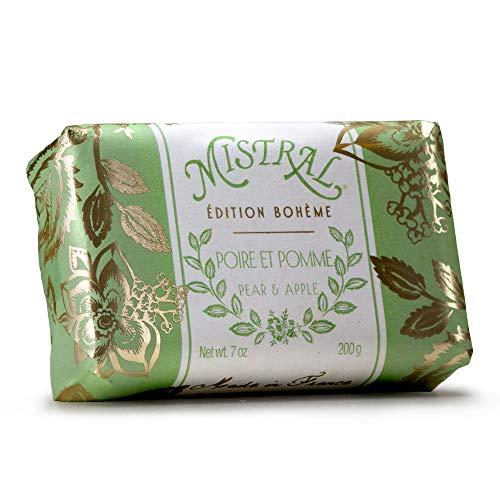 Mistral Bar Soap Edition Boheme Pear Apple, 2 Bars