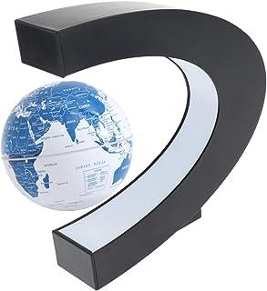 Baosity C Shape Color Change Levitation Floating World Globe Rotating World Map