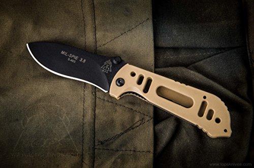 Tops Knives Mil-Spie 3.5 Hunter Com…