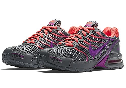 Nike Women's Air Max Torch 4 Running Shoes (9.5 B(M), Cool Grey/Hyper Violet/Hyper Punch)