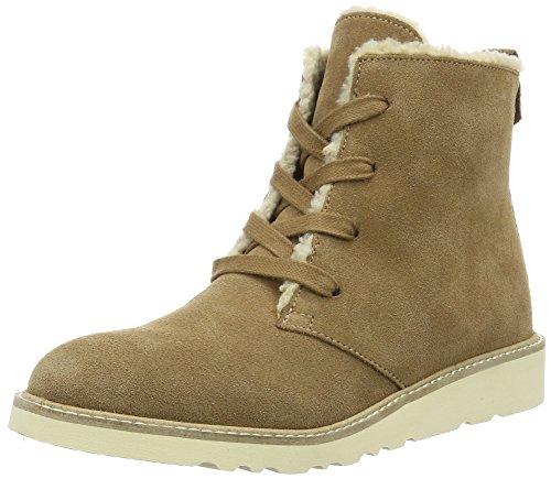 ESPRIT Damen Kajal LU Bootie Chukka Boots, Braun (255 Bark), 39 EU