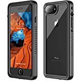 iPhone 7 Plus Waterproof Case,iPhone 8 Plus Waterproof Case. GOLDJU 2019 Full Body Protective IP68 Underwater Shockproof Dirtproof Sandproof Waterproof Case for iPhone 7 Plus/iPhone 8 Plus(5.5')