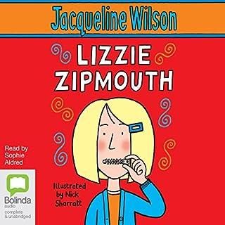 Lizzie Zipmouth audiobook cover art