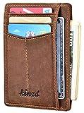 Best Front Pocket Wallets For Men - Slim Wallet RFID Front Pocket Wallet Minimalist Secure Review