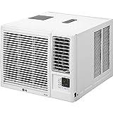 LG Electronics LG 24,000 BTU Heat/Cool Window Air Conditioner with WiFi Controls, LW2421HRSM, 16.840, White