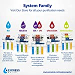 Express Water - ROALK5D Reverse Osmosis Alkaline Water Filtration System – 10 Stage RO Water Filter with Faucet and Tank… 18 Reverse Osmosis Water Filter: Experience what water should taste like with the Express Water reverse osmosis water filtration system removing up to 99. 99% of Lead, Chlorine, Fluoride, Nitrates, Calcium, Arsenic, Bacteria, and more Alkaline Water Filter: Express Water's Alkaline Water Filter with Active Mineral Technology adds Calcium, Potassium, Magnesium, and other minerals to your water Under Sink Water Filter: Don't waste money on professional installation. Express Water's quick and easy-to-understand design means you can install and understand everything about your new water filtration system