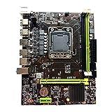 SovelyBoFan Placa Base de Computadora X79, Compatible con CPUs de la Serie de 1356 Pines, como E5-2430L 2440L, y Compatible con Memoria DDR31066 / 1333
