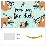 Digitaler Amazon.de Gutschein (Faultiere)