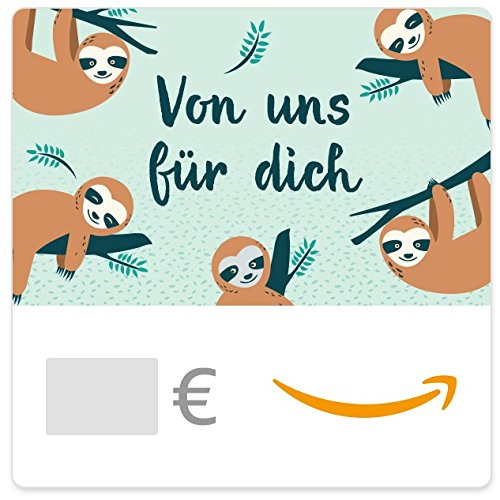 Digitaler Amazon.de Gutschein (Faultiere)