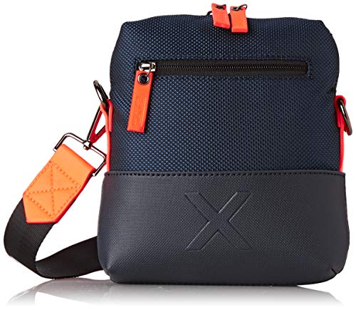 Munich Small Crossbody City Business Navy, Bolso bandolera para Hombre, Azul, 5.5x22.0x21.0 cm (W x H x L)