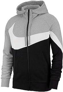 Nike 耐克男装上衣 春季 运动服健身训练休闲舒适针织连帽外套夹克风衣