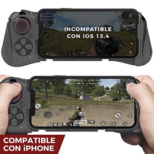 BINDEN Control para Celular Gamepad 058 Compatible con iPhone, Indetectable, Ideal para Juegos de…