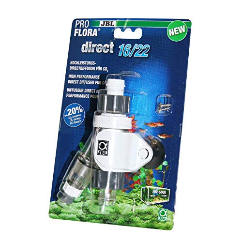 JBL ProFlora Direct Hochleistungs-Direktdiffusor für CO2, 16/22 Inlinediffusor, 63340