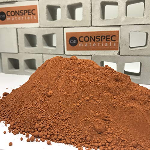 Conspec 1 Lbs. Terracotta Powdered Color for Concrete, Cement, Mortar, Grout, Plaster, Colorant, Pigment