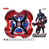 Rkgupta Enterprises Captain America Pro Quad 6 Axis Flying Drone with 2.4 GHz