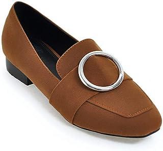 BalaMasa Womens APL11914 Pu Block Heels