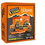 Base Camp Camping Hygiene Kit   26 Piece   Wilderness Personal Care Essentials for Outdoors, Hunting & Backpacking   Camp Bar Soap, Body Wash & Shampoo for Body Odor, Body Cleanse Wipes, Wash Towel
