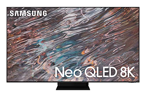 """Samsung TV QN800A Smart TV 65"""", Neo QLED 8K, Wi-Fi, Stainless Steel, 2021"""