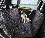 ChicPet Funda de Asiento de automóvil, Forro de Maletero y Hamaca con Correa de cinturón de Seguridad para Mascotas y Bolsa de Almacenamiento Impermeable X Grande Negro