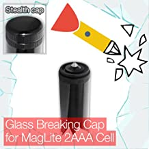 Stealthy Glass Breaking End/Tail Cap for Mini MagLite 2AAA Cell Torch/Flashlight