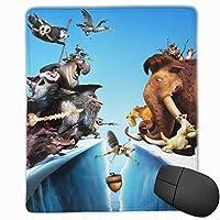 マウスパッド 3 Dプリント人気 流行アイス?エイジ (3) マウスパッド 水洗い 滑り止め 耐久性が 使い心地もマウス用パッド キーボードパッド デスクマット オフィス/サイバーカフェなど適用