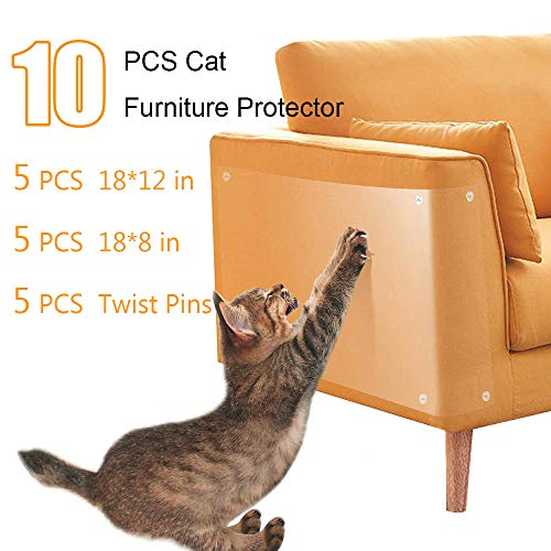 CMISMPRT Cat Furniture Protector Cat Scratch Deterrent...