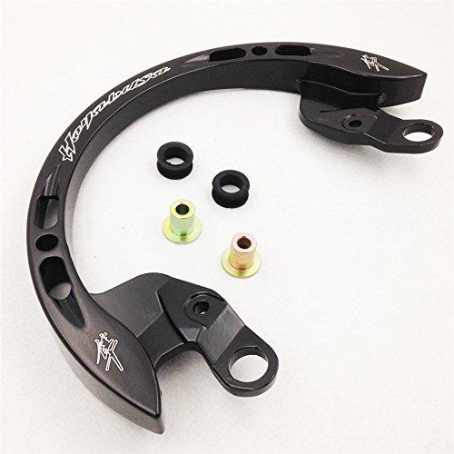 XKH- Rear Passenger Grab Bar Handle Rail Compatible with 2008 2013 Suzuki Hayabusa 1300 GSX1300R Black [B075VNN3K3]
