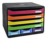 Exacompta Storebox Mini Harlekin mit 7 Schubladen